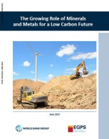 The Growing Role of Minerals and Metals for A Low-Carbon Future 2017